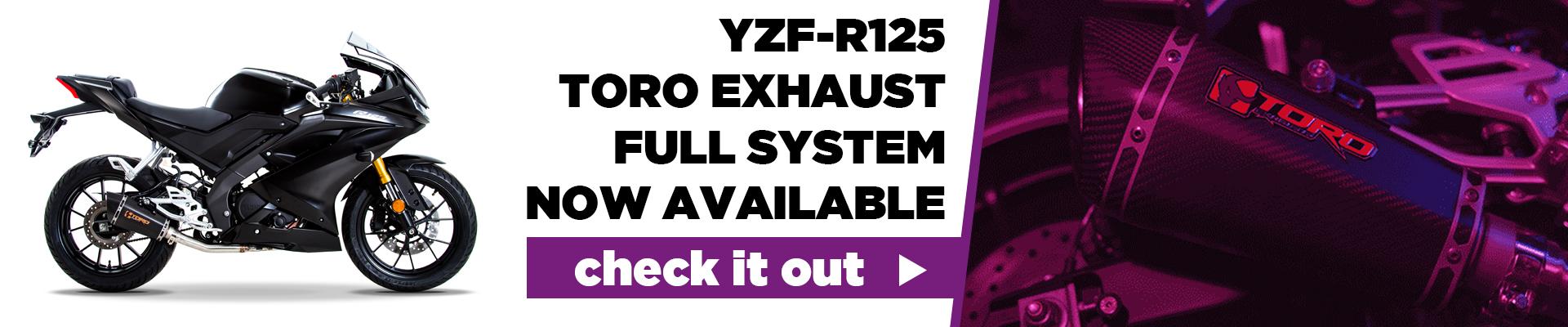 Yamaha YZF R 125 Toro Hex Cone