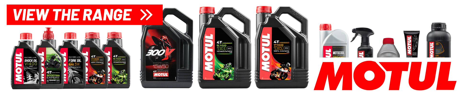 view the full range of Motul Products