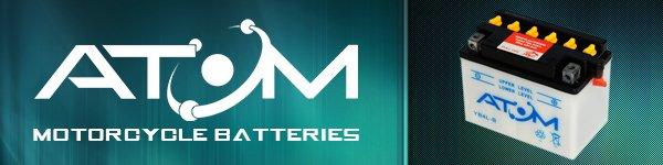 Atom Batteries Brand Banner