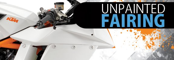 Motorcycle fairing banner