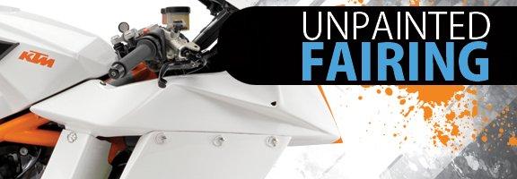 Motorcycle fairing banner