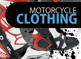Motorcycle clothing banner