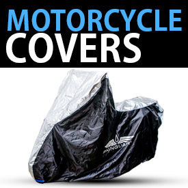 Motorcycle covers banner